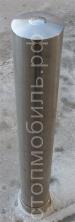 Столбик съемный диаметром 108 мм из нержавеющей стали