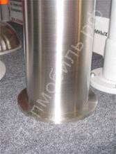 Столбик стационарный из нержавеющей стали диаметром 108 мм